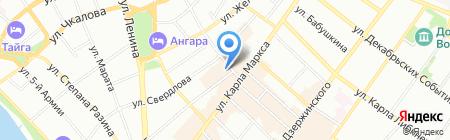 ФАБРИКА УЮТА на карте Иркутска