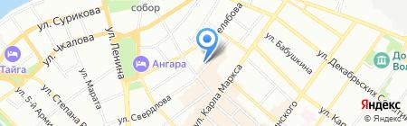 Вещи с историей на карте Иркутска