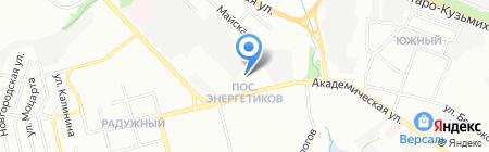 Автоджин38 на карте Иркутска