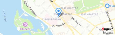 Спецтранссервис на карте Иркутска