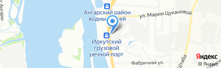 Автозапчасть-Холдинг на карте Иркутска