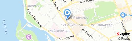 Versiya на карте Иркутска