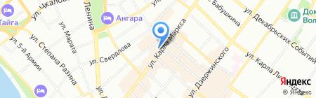 Управление фармацевтической деятельности и медицинской техники на карте Иркутска