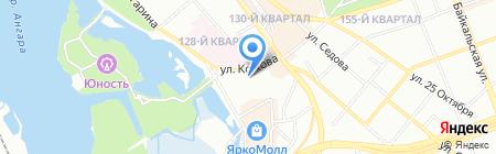 Статус на карте Иркутска