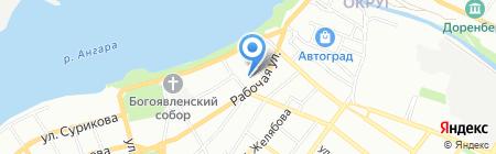 Православная женская гимназия на карте Иркутска