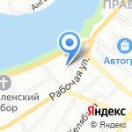 ФОРМУЛА БЕЗОПАСНОСТИ-Иркутск на карте Иркутска