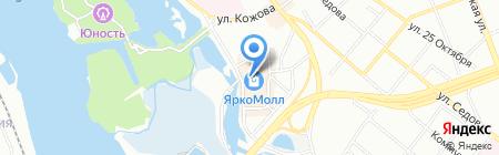 Модекс на карте Иркутска