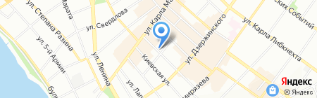 Софит на карте Иркутска