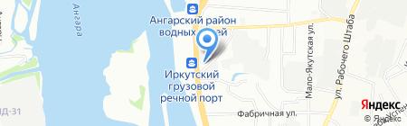 Удача на карте Иркутска