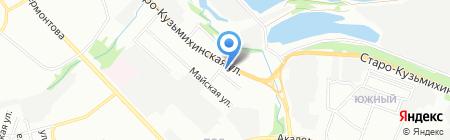 Middle way на карте Иркутска