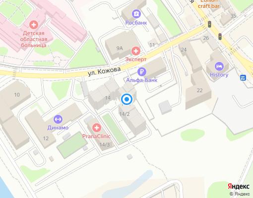 Управляющая компания «Сервис-Люкс» на карте Иркутска