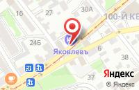 Схема проезда до компании Аваллон-Иркутск в Иркутске