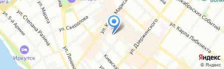 Виртуоз на карте Иркутска