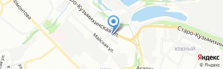 Форд-Авто на карте Иркутска