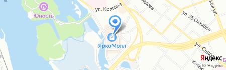 The North face на карте Иркутска