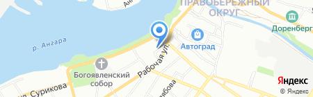 Теплолюкс-Иркутск на карте Иркутска