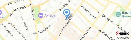 Расходники.Ру на карте Иркутска
