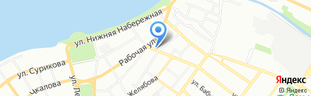 Колокольчик на карте Иркутска