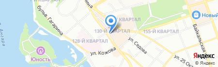 Кофейня №23 на карте Иркутска
