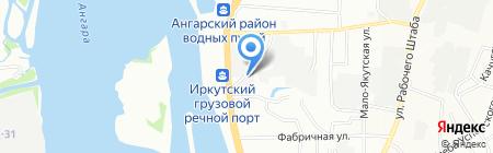 Альянс Металл на карте Иркутска