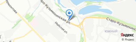 КвадроБайк на карте Иркутска
