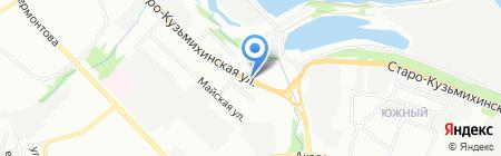 Mipa на карте Иркутска