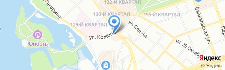 АЗС комплекс на карте Иркутска