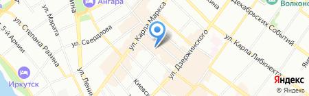 Персон Loreal на карте Иркутска