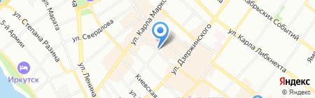Региональное агентство займов на карте Иркутска