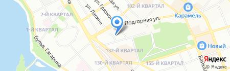 АлАр на карте Иркутска