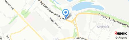 МаксАвто на карте Иркутска