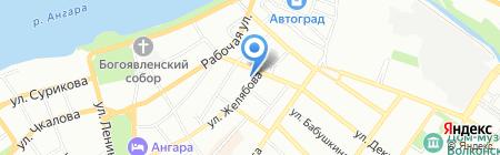 Центр медицинского права и медицинских экспертиз на карте Иркутска