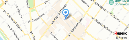 Maxim на карте Иркутска