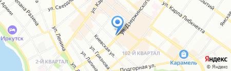 Spring store на карте Иркутска