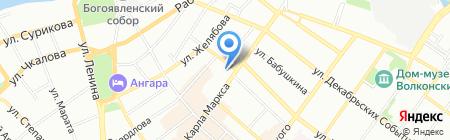 Арт-Смайл на карте Иркутска