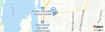 Людмила на карте Иркутска