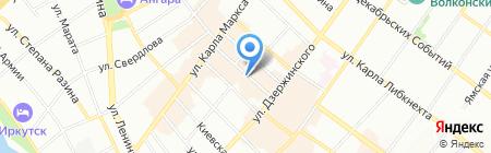 RESERVED на карте Иркутска