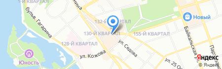Ангара МОНТАЖТОРГСЕРВИС на карте Иркутска