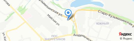 Агат-Авто на карте Иркутска