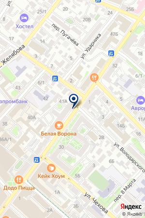 АЗС ОКТАН на карте Иркутска