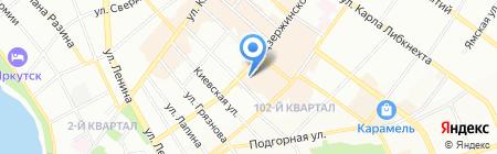 Woman`store на карте Иркутска