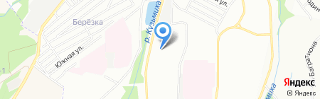 Детский сад №179 на карте Иркутска