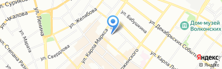 Магазин джинсовой одежды на карте Иркутска