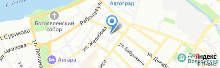 ЦОСТ на карте Иркутска