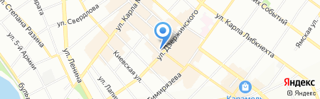 ГУ МВД России по Иркутской области на карте Иркутска