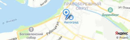 IRobot на карте Иркутска
