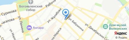 PAUL & SHARK на карте Иркутска