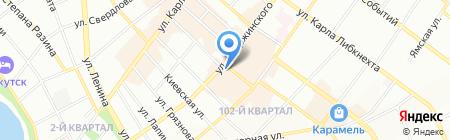 Фармэконом на карте Иркутска