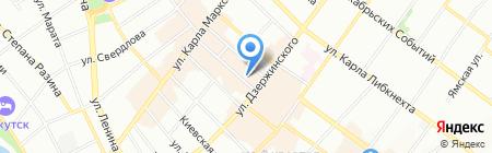Прокуратура г. Иркутска на карте Иркутска