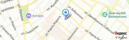 Психологический кабинет на карте Иркутска